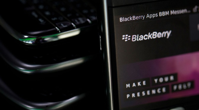 BlackBerry's Software Growth Takes Hold as Smartphone Sales Fall