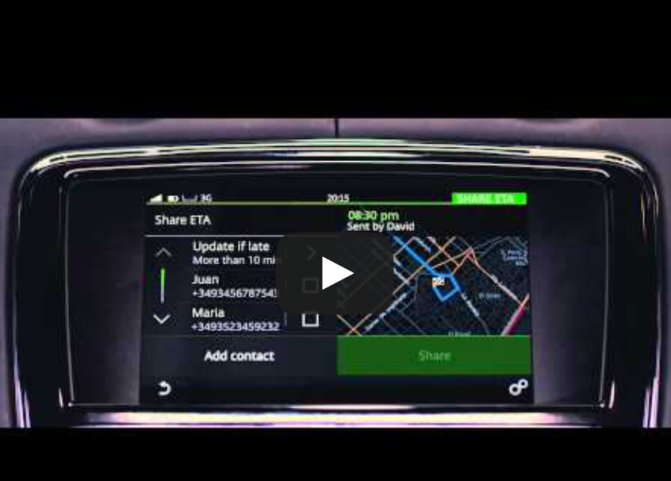 Video: Nokia HERE confirms Jaguar XJ is using its guidance