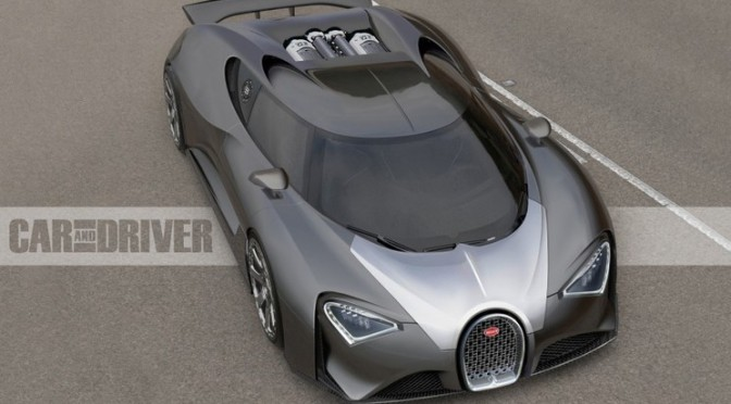 2017 Bugatti Chiron: The $2.5-million, 1500-hp Son of Veyron – Photo Gallery of Feature from Car and Driver – Car Images – Car and Driver