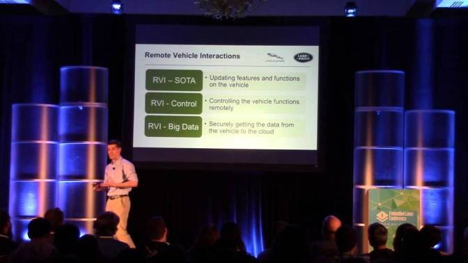 ELC 2015 Keynote – Embedding Openness in the Connected Car – Matt Jones, Jaguar Land Rover