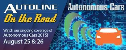 Detroit Report: McElroy broadcasting from Autonomous Cars 2015