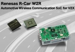 Japan: Renesas delivers SoC for V2X