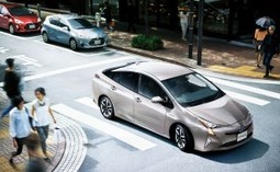 Japan: Toyota releases new Prius with V2X technology